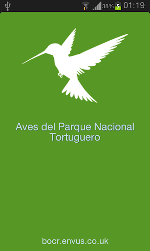 Bird Guide to Tortuguero NP CR
