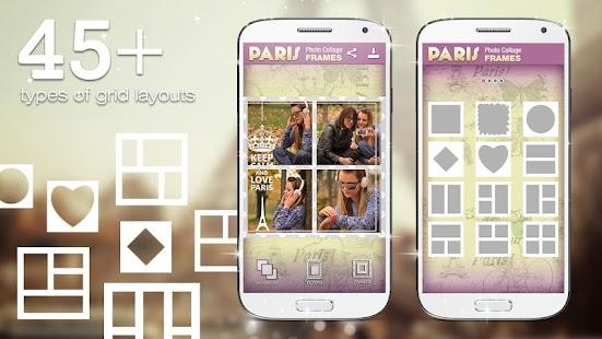 Paris Photo Collage Frames screenshot