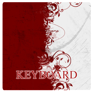 Red Honeycomb Keyboard Skin