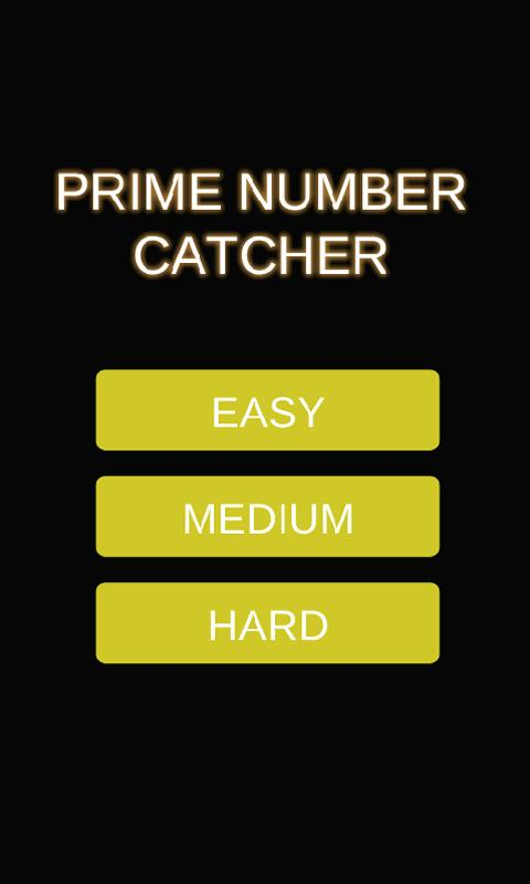 Prime Number Catcher - screenshot