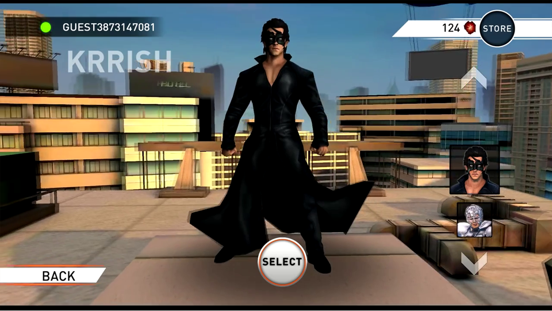 Krrish 3: The Game- screenshot