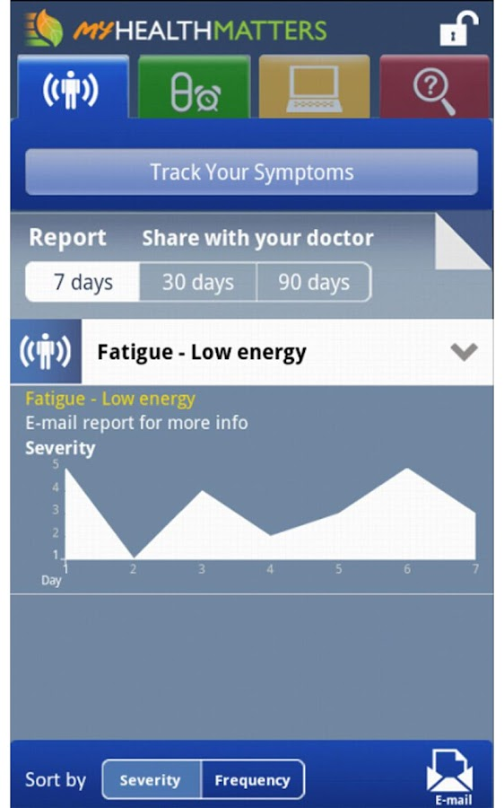 My Health Matters - screenshot