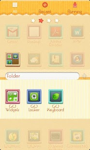 ZLithe GO Launcher Theme - screenshot thumbnail