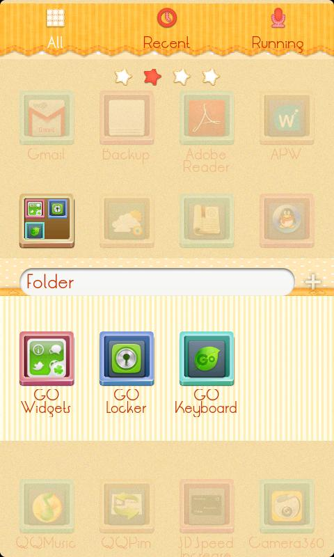 ZLithe GO Launcher Theme - screenshot