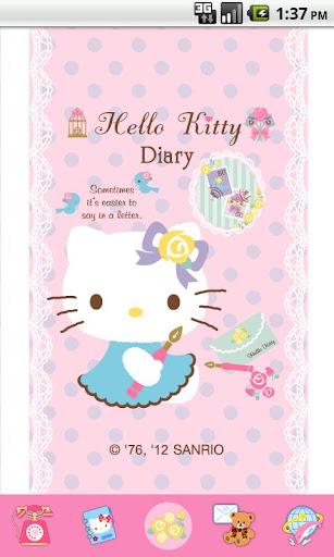Hello Kitty LetterSome Theme