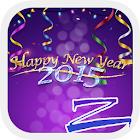 Happy new year 2015 - ZERO icon