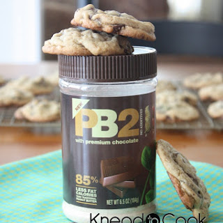 PB2 Chocolate Chip Cookies.
