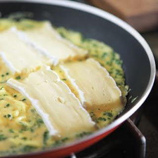 Herb and Brie Omelet.