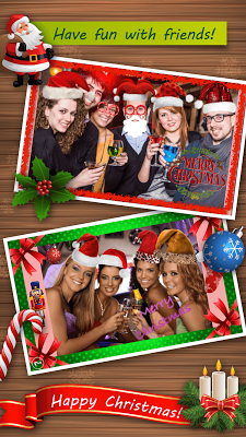Christmas Hats Photo frame 15 - screenshot