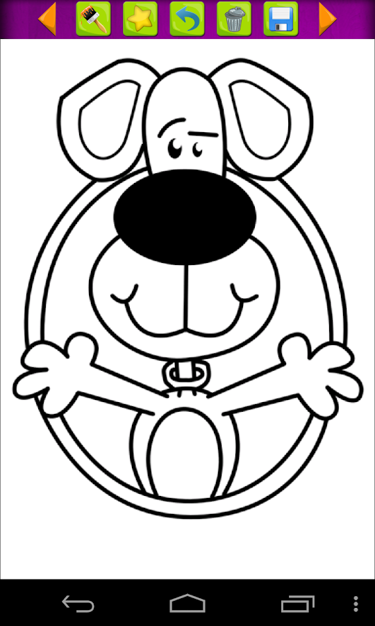Animals Coloring Book- screenshot