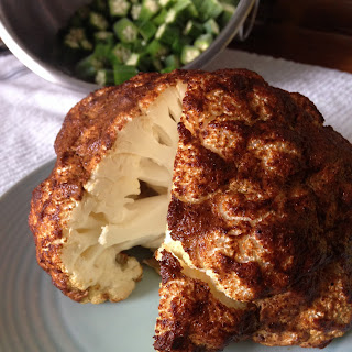 Whole Roasted Cauliflower.