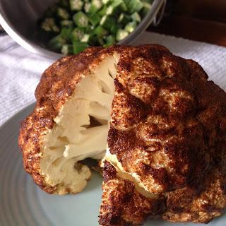 Whole Roasted Cauliflower.