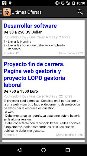 Tabajo Freelance