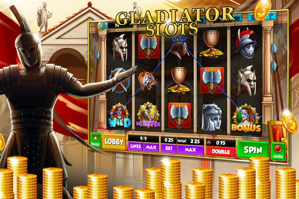 Играть в игровой автомат гладиатор