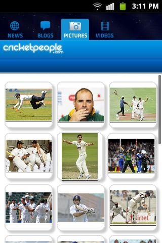 Cricket People.com - screenshot
