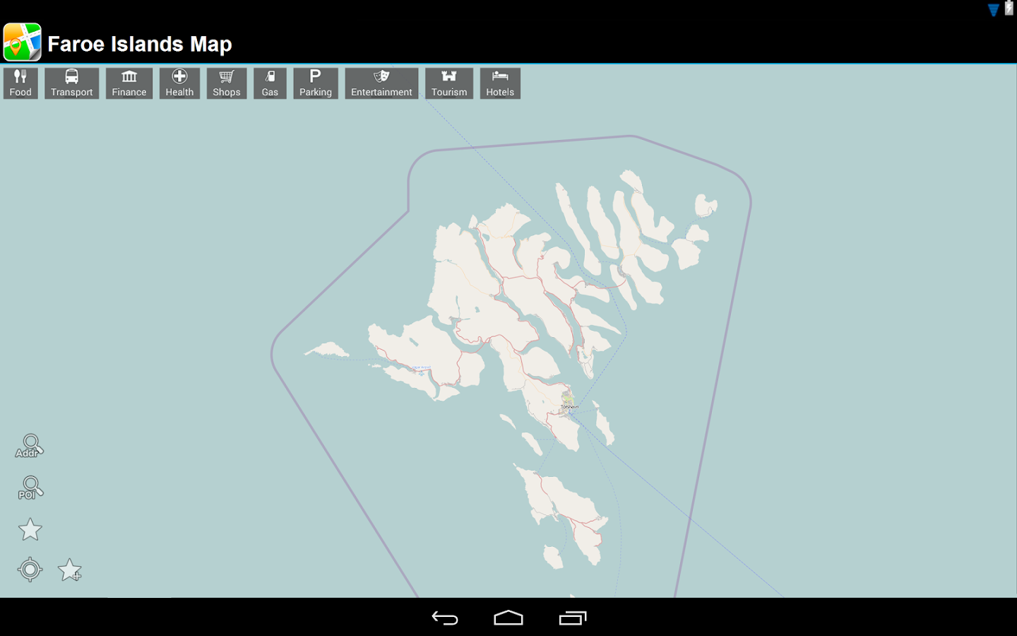 Faroe Islands Offline Map - screenshot