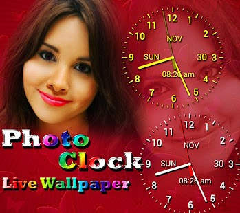Photo Clock Live Wallpaper - Android Apps on Google Play