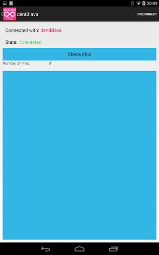 arduControl BLE screenshot