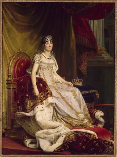 Joséphine in coronation costume