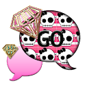 SkullBling2/GO SMS THEME icon