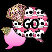 SkullBling2/GO SMS THEME