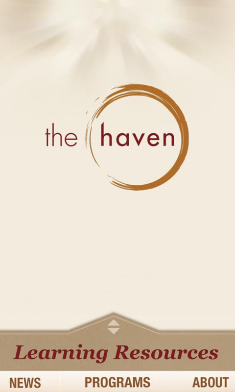 The Haven App - screenshot
