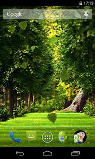 Falling leaves Live Wallpaper - screenshot thumbnail