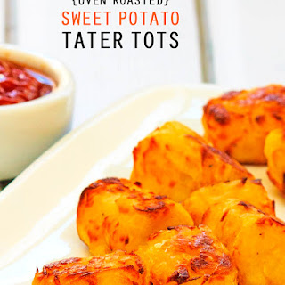 Homemade Oven Roasted Sweet Potato Tater Tots