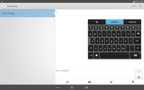 Xperia Keyboard Screenshot 5