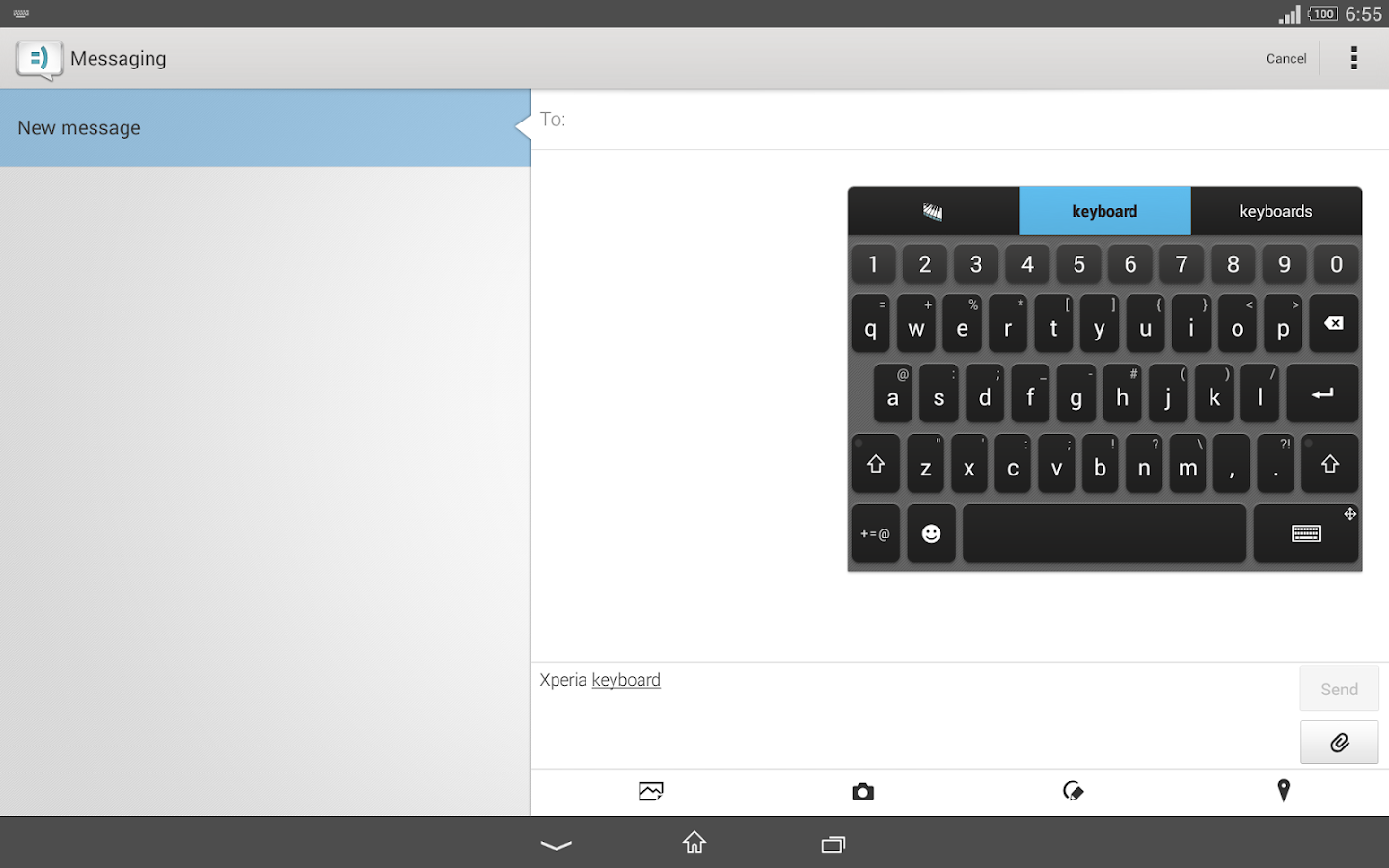 Xperia Keyboard - screenshot