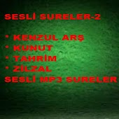 EN GÜZEL SESLİ DUA,  SURELER 2