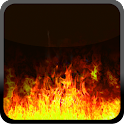 Fire Flames HD Live Wallpaper logo