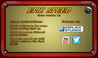 Screenshot of Epic Speed