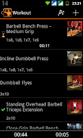 Screenshot of GymUP Pro