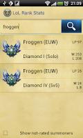 Screenshot of LoL Ranking League of Legends