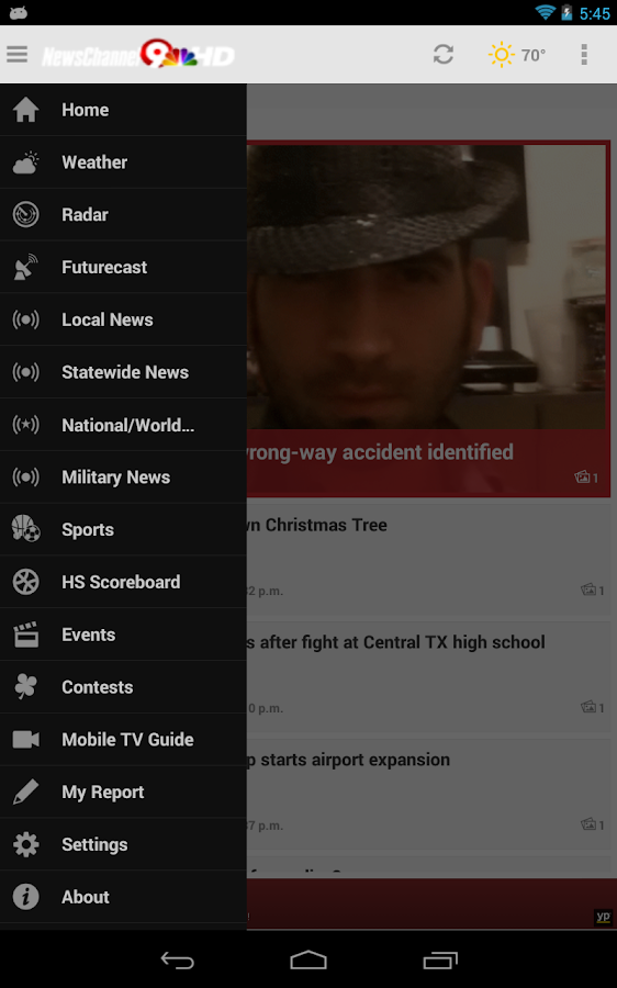 NewsChannel 9 - screenshot