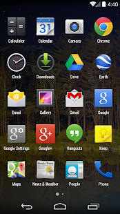 Google Now Launcher- screenshot thumbnail