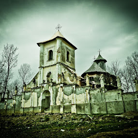 Old Church by Ovidiu Porohniuc - Buildings & Architecture Places of Worship ( hiliseu-crisan, old, church, botosani,  )