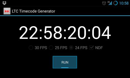 LTC Timecode Generator Free