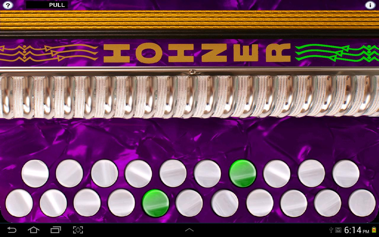 Hohner G/C Button Accordion- screenshot