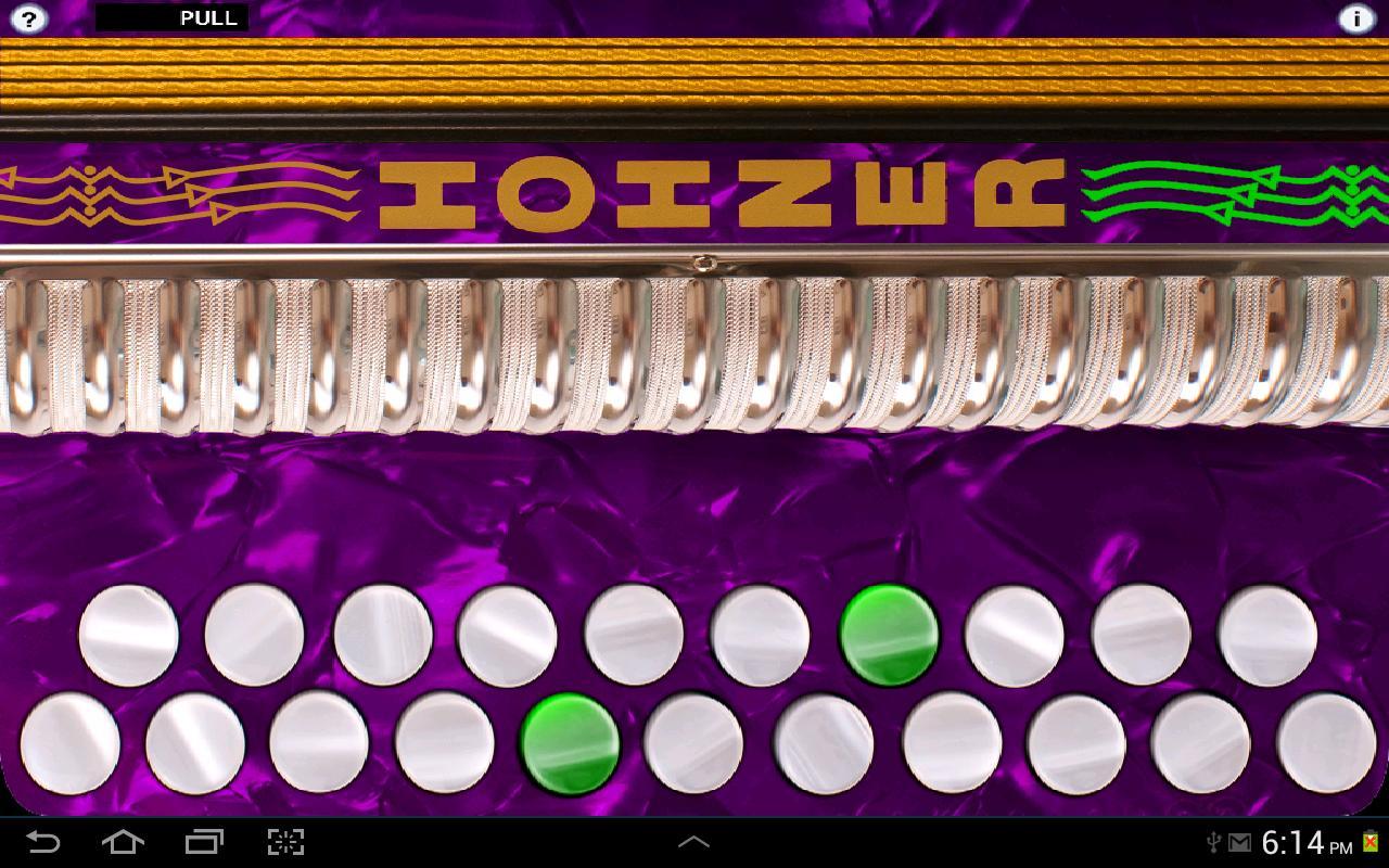 Hohner G/C Button Accordion - screenshot