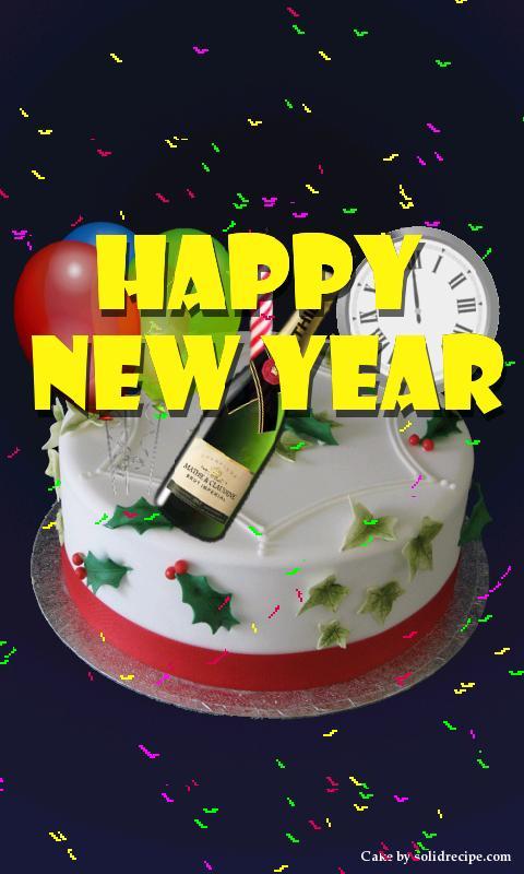 happy birthday cake on birthday cake name app