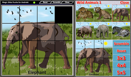 Magic Slide Puzzle W.Animals 1 Screenshot 18