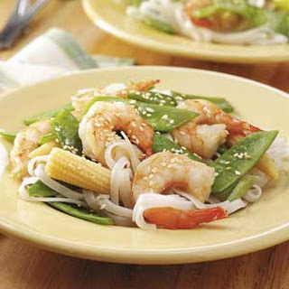 Vegetable Shrimp Stir-Fry.