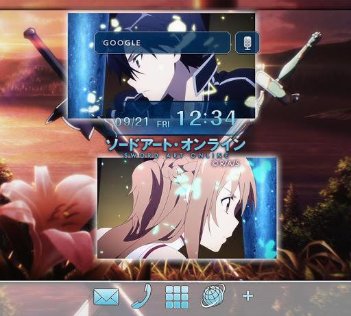 ソードアート・オンライン(アニメ) きせかえテーマ3