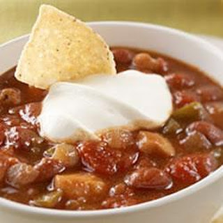 Sweet and Saucy Chicken Chili.