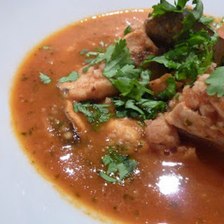Moroccan Inspired Fish Soup.