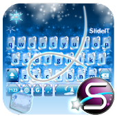 SlideIT Christmas on Ice Skin