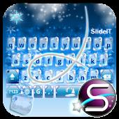 SlideIT Christmas on Ice Skin