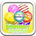 Birthday Floating Presents icon